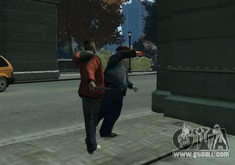 Melee Fight Mod II for GTA 4 forth screenshot