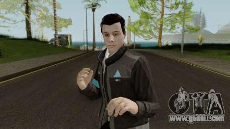 GTA Online Random Skin 9 Connor From Detriot for GTA San Andreas