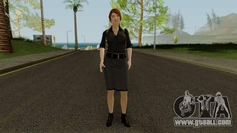 Anna Grimsdottir Blacklist Skin for GTA San Andreas second screenshot