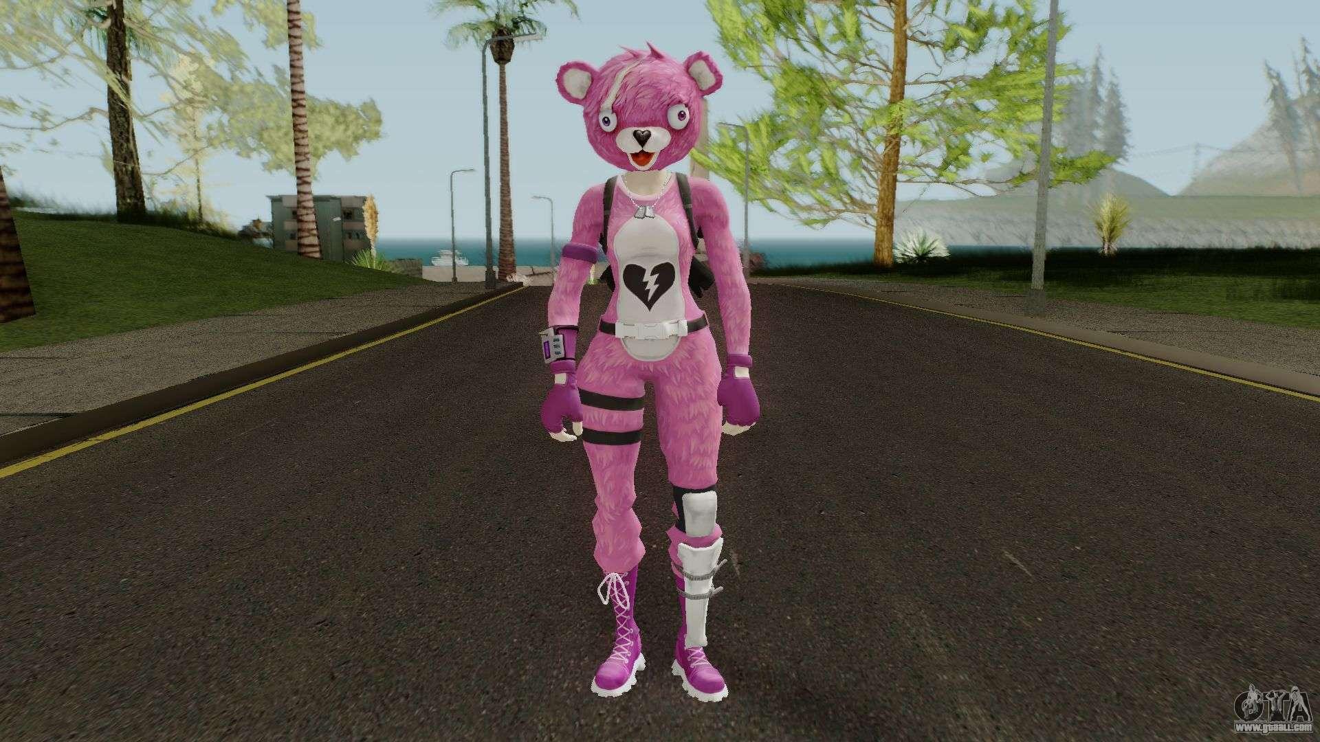 Fortnite Pink Teddy Bear for GTA
