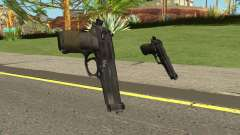 Beretta M9 (Normal Map) for GTA San Andreas