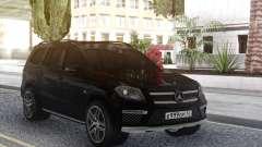 Mercedes-Benz GL63 Black for GTA San Andreas