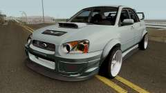 Subaru Impreza WRX STI Custom for GTA San Andreas