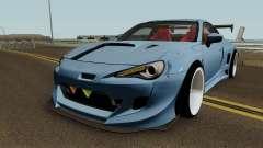 Toyota GTR86 Rocket Bunny Pandem V3 2013 for GTA San Andreas