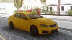 Lexus IS F 2008 for GTA San Andreas