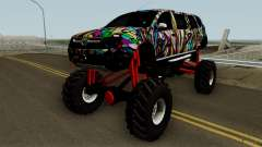 Dacia Duster Limo Monster 2013 for GTA San Andreas
