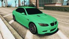 BMW M3 E92 Green Coupe for GTA San Andreas