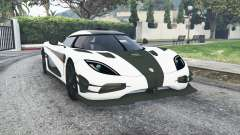 Koenigsegg One1 2014 v1.2 [replace] for GTA 5