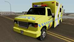 SAMU Ambulance for GTA San Andreas