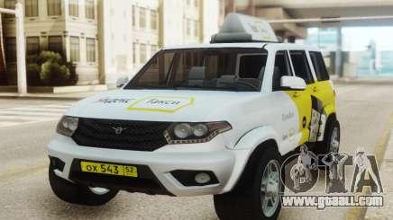 UAZ Patriot Yandex taxi for GTA San Andreas