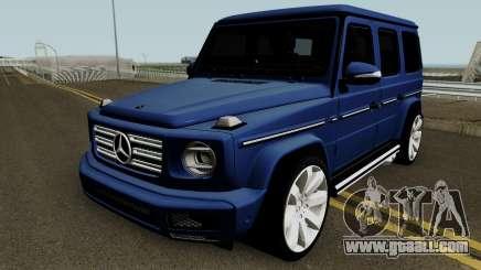 Mercedes-Benz G-Class 2019 for GTA San Andreas