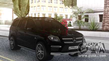 Mercedes-Benz GL63 Black for GTA San Andreas