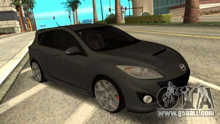 Mazda 3 MPS Stock for GTA San Andreas