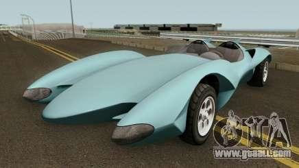 Declasse Scramjet Mach 5 v2 GTA V for GTA San Andreas