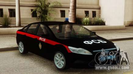 Ford Focus 2 Restyling FSB for GTA San Andreas