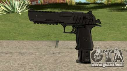 Desert Eagle Extended Magazine Custom (.50AE) for GTA San Andreas