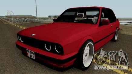 BMW E30 HQ for GTA San Andreas