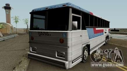 Beta Bus Dashound for GTA San Andreas