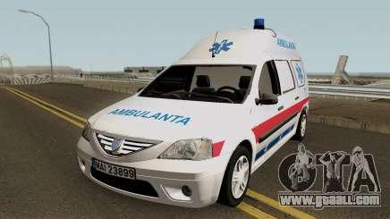Dacia Logan MCV Ambulanta for GTA San Andreas