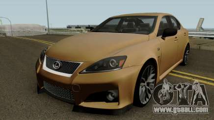 Lexus IS Sport for GTA San Andreas