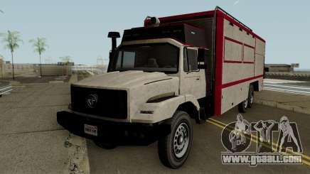 Benefactor Terrorbyte GTA V IVF for GTA San Andreas
