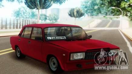 2107 Red Sedan for GTA San Andreas
