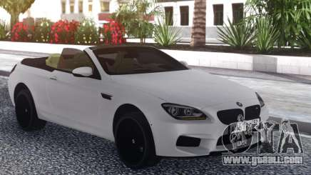 BMW M6 Cabrio White for GTA San Andreas