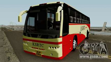 KSRTC Super Fast Volvo for GTA San Andreas