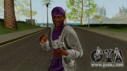 Ballas Member 3 GTA V for GTA San Andreas