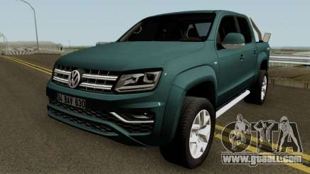 Volkswagen Amarok V6 Aventura 2018 for GTA San Andreas