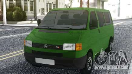 Volkswagen Transporter Mk4 1999 Green for GTA San Andreas
