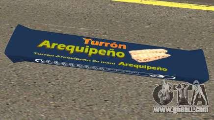 Turron Arequipeno for GTA San Andreas