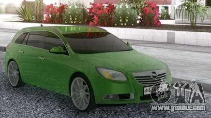 Opel Insignia Green for GTA San Andreas