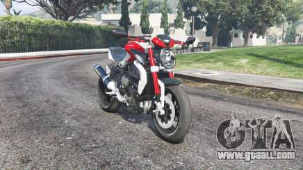 MV Agusta Brutale 800 Dragster RR v1.3 [replace] for GTA 5