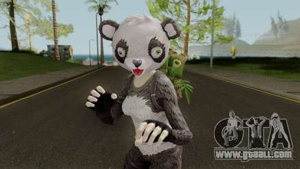 Fortnite Panda Skin for GTA San Andreas