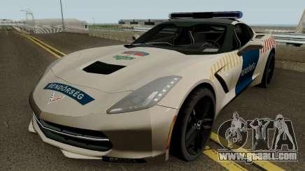 Chevrolet Corvette C7 Rendorseg for GTA San Andreas
