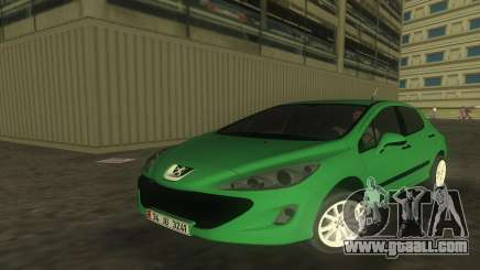 2010 Peugeot 308 for GTA Vice City