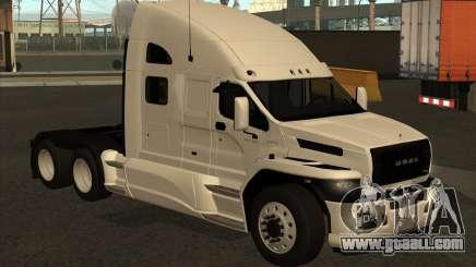 Ural Next White for GTA San Andreas