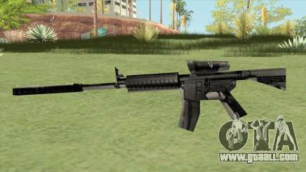 M4 (Counter Strike 1.6) for GTA San Andreas