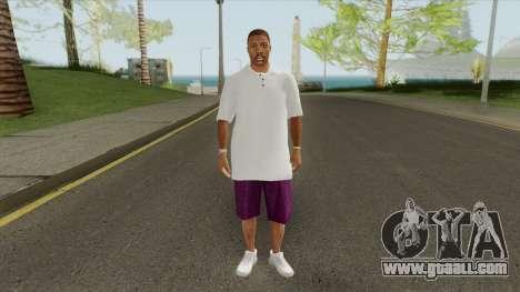 New Ballas Skin V1 (HD) for GTA San Andreas