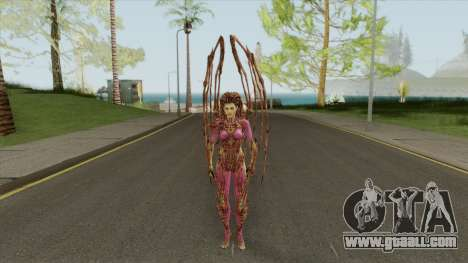 Infested Kerrigan (StarCraft 2) for GTA San Andreas