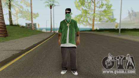 New Fam3 (Grove Street) for GTA San Andreas