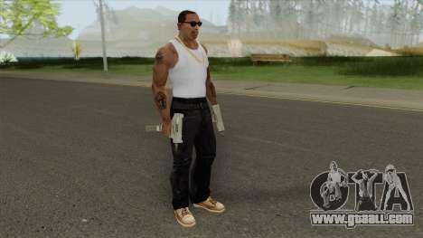 Uzi (HD) for GTA San Andreas