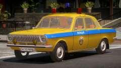 GAZ 24-01 Volga Police for GTA 4