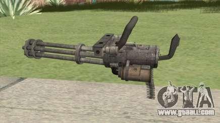 Minigun (HD) for GTA San Andreas