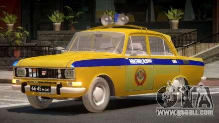 AZLK 2140 Police for GTA 4