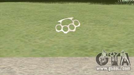 Brass Knuckles (HD) for GTA San Andreas