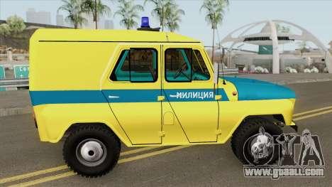 UAZ 469 (Police Union) for GTA San Andreas