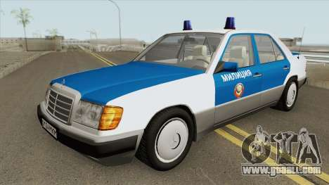 Mercedes-Benz W124 (Police) 1990 for GTA San Andreas