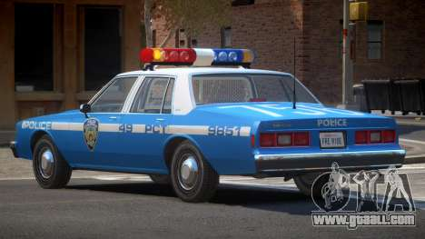 Chevrolet Impala NYC Police 1984 for GTA 4